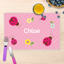 Three Lady Bugs Kids Placemat