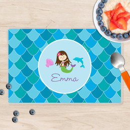 Mermaid Shades Kids Placemat