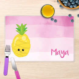 Yummy Pineapple Kids Placemat