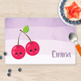 Yummy Cherries Kids Placemat