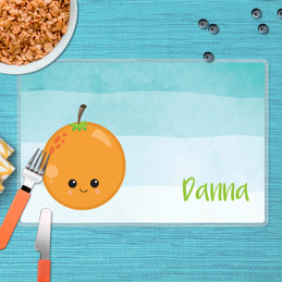 Yummy Orange Kids Placemat