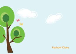 Cute Custom Stationery Note Cards | Tree Of Dreams