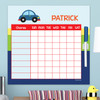 Cute Little Car Customizable Chore Chart