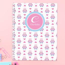 Owl Love Kids Notebook