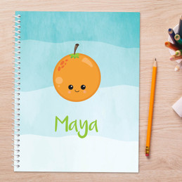 Yummy Oranges Kids Notebook