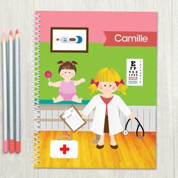Doctor's Visit Kids Notebook