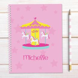 Sweet Carousel Kids Notebook