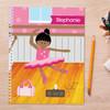 Ballerina Studio Kids Notebook