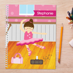 Ballerina Studio Kids Notebook