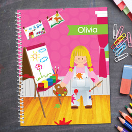 Artist At Work Kids Notebook