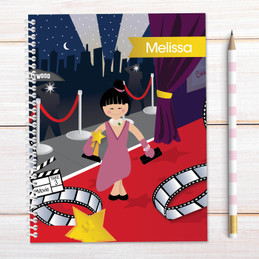 In The Spotlight Kids Notebook