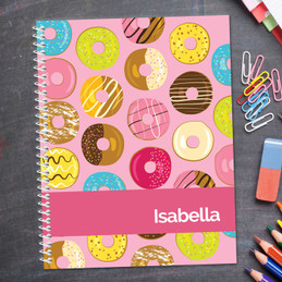 Sweet Donuts Kids Notebook