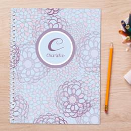 Flower Mosaic Kids Notebook