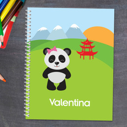 Sweet Panda Kids Notebook