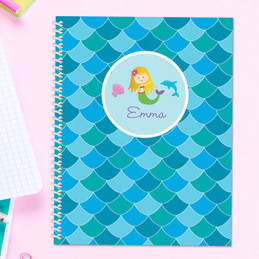 Mermaid Shades Kids Notebook