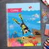 Under The Sea Kids Notebook