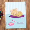 Cute Little Kitten Kids Notebook