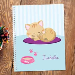 Cute Little Kitten Kids Notebook