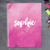 Bold Colorful Name Kids Notebook