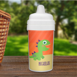 Baby Sippy Cup with Cute Dino