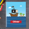 All Aboard Pirates Kids Notebook