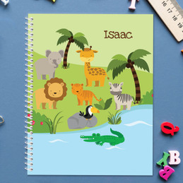 Jungle Fever Kids Notebook