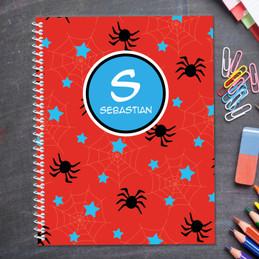 Fun Spider Web Kids Notebook