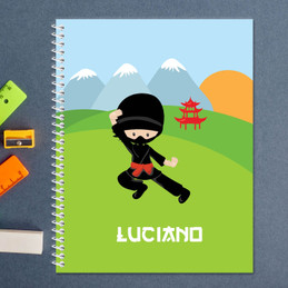 Cool Super Ninja Kids Notebook