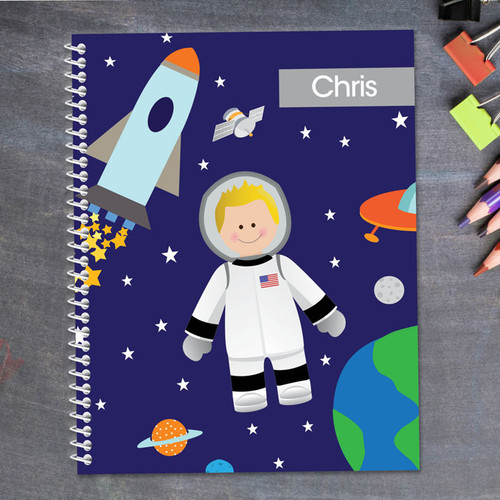 Fly to the Moon Kids Notebook