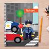 Police on Duty Kids Notebook