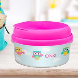 Three Owls Snack Bowl