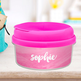Bold Colorful Name Snack Bowl