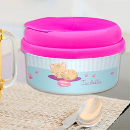 Cute Little Kitten Snack Bowl