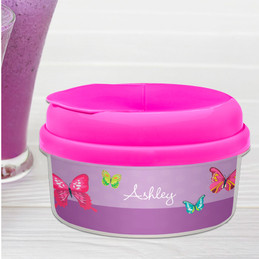 Bright Butterflies Snack Bowl