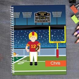 Touchdown Kids Notebook