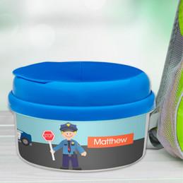 Police On Duty Snack Bowl