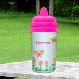A Butterfly Field Sippy Cup