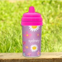 Field Of Flowers - Purple Sippy Cup