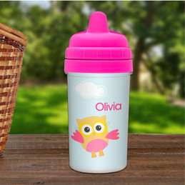 Three Owls No Spill Sippy Cup