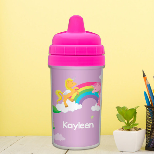 Sweet Unicorns Spill Proof Sippy Cup