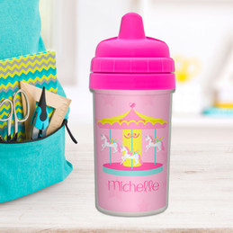 Sweet Carousel Kids Sippy Cups