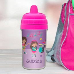 Rock And Roll Band Infant Sippy Cups