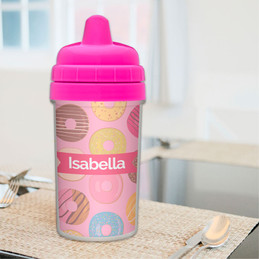 Sweet Donuts Sippy Cup for 2 Year Old