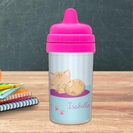 Cute Little Kitten Sippy Cup