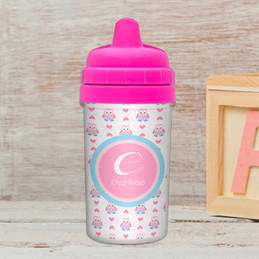 Owl Love Sippy Cup for Toddlers