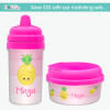 Yummy Pineapple Toddler Sippy Cups