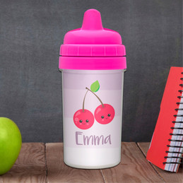 Yummy Cherries Baby Sippy Cup