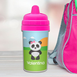 No Spill Cup with Sweet Panda design