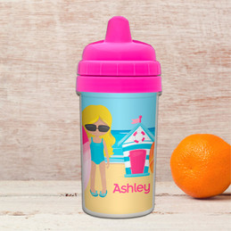 Beach Girl Sippy Cup
