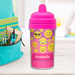 Girl Emojis Sippy Cup